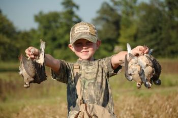 A great Labor Day weekend dove hunt is a true blessing for hunters young and old.