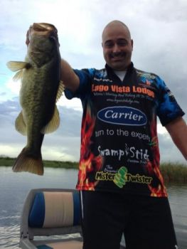 The Flip'n OUT will tempt big bass, as some tournament anglers testing prototypes learned.