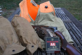 A shooting vest, snake gaiters and shotgun shells are great Christmas gifts for the upland  game hunter in South Carolina.