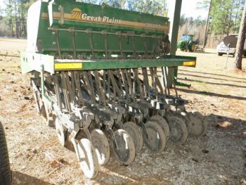 No-till drilling devices are often available for short-term rental for land managers wishing to use them to plant food plots.
