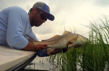 The better tailing flats for reds are those not too close to popular boat ramps.