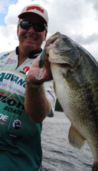 June bass are likely to be ganged up on offshore structure, the perfect situation for fishing a crankbait.