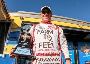 Andy Montgomery of Blacksburg won the BASS Southern Open on North Carolina's Lake Norman on Saturday.