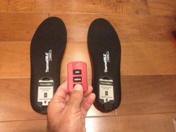 Thermacell is making heated insoles that should warm your toes in the duck blind.