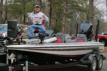 Brandon Gray of Bullock, N.C., finished first in the bracket division of the Bassmaster Team Championship and won a berth in the Bassmaster Classic.