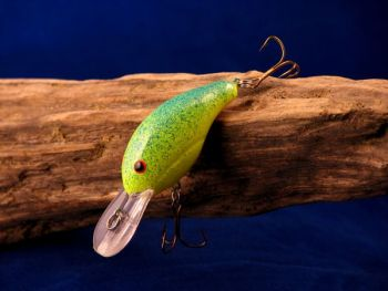 A crankbait is often overlooked during the spring when fish are hitting so many different baits, but it can be a key bass-fishing lure.