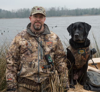 Brian McCoy of Mooresville has been named Volunteer of the Year by conservation group Delta Waterfowl.