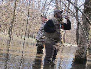 Antonio Jones, a past world duck-calling champion, said hunters need to know only a handful of calls to kill ducks.