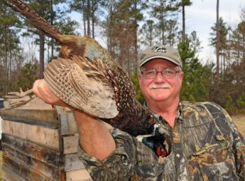 Tower shoots offer quick shooting, and are one of the most exciting ways to bag a pheasant in South Carolina.