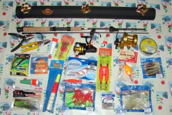Lures are great stocking stuffers for fishermen, and most are reasonably priced.