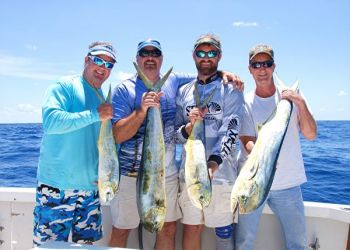 Blue water trolling for dolphin has a widespread appeal for anglers of all backgrounds.