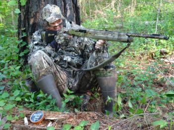 Taking the high ground is a great tactic when you're trying to call in a gobbler, especially in the Midlands and Upstate.
