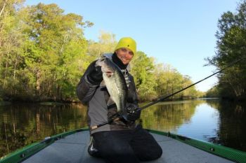 Marty Robinson has found a few good fish like this one during practice, and he hopes they will bite again over the next four days.