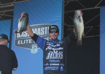 Australian Carl Jocumsen of Australia leads after day one of the Bassmaster Elite event at Winyah Bay in Georgetown, S.C., but all three N.C. anglers are still in the hunt.