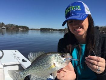 The Matrix Mini allows anglers to scratch the angling itch when crappie are lethargic.