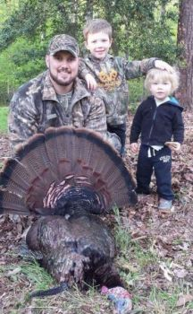 This trophy gobbler beat Brant Grady on April 16, but Grady got the last laugh on the following Monday.