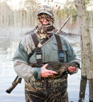 Ernie Freeman of Stedman takes an occasional green-winged teal on October hunts.