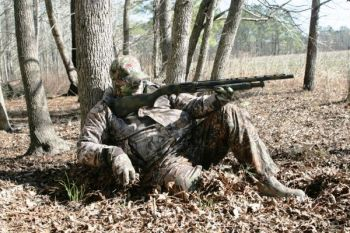Scratching in the leaves while calling quietly is a great tactic to give an approaching gobbler a sense of security.