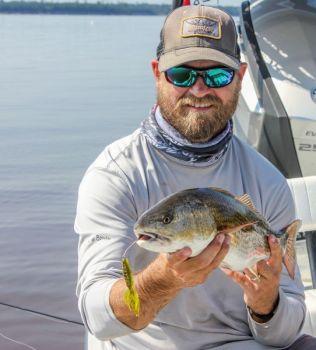 Try Cajun tricks for brackish water Carolina redfish.