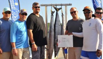 Reel Country won the 2017 Reelin' for Research Tournament with 124.8 pounds.
