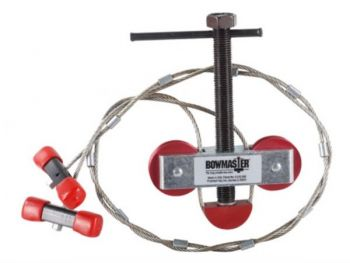 A portable bow press will enable you to change out strings and/or cables in case of damage in the field.