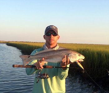 Allen Cain of Sight Fish NC believes that bass fishermen who can adjust to the movement of the tides will soon feel right at home catching redfish.