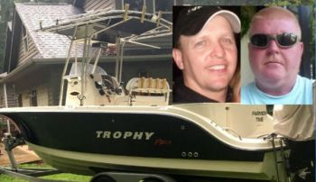 Steve Chaney and David Hambrick did not return from a fishing trip on Sunday, prompting a search by the U.S. Coast Guard.