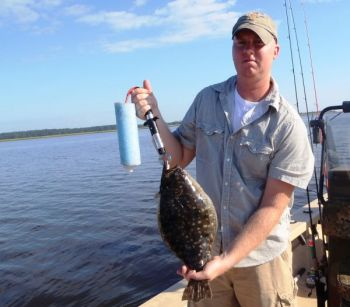 North Carolina's lower Cape Fear River produces some great flounder, especially in the fall.