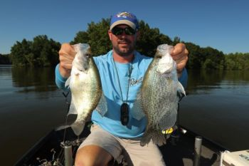 Lake Marion's Sparkleberry Swamp will hold plenty of crappie this month, with fish relating to flooded cypress trees.