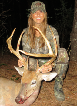 Stephanie Ford killed this trophy the day after her brother killed a big one on opening day. It's the second time in three years the brother-sister duo killed big bucks on back-to-back days.