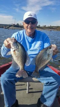 Areas around creek mouths and bridges turn on for Jordan Lake crappie in October as the water temperature falls.