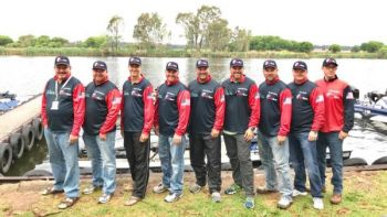Team USA took the silver medal in the XIII Black Bass World Championships in South Africa.