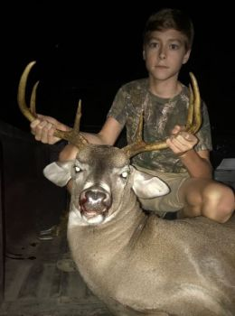 Thirteen-year-old Jake Wall killed this brute on his family's Allendale County, S.C. farm on Sept. 23.