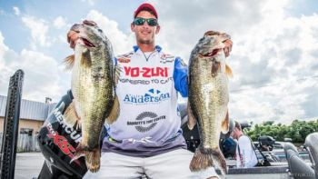 Brandon Cobb said largemouth bass will head up Lake Hartwell's creeks this month, following schools of threadfin shad.