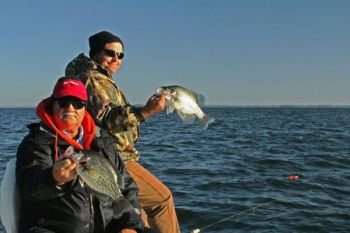 The Santee Cooper lakes hold some of the best crappie populations in the Carolinas.
