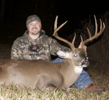 Cody Lemere of Walhalla killed this impressive 151 inch buck on his family farm in Oconee County on November 29.