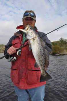 There's no bigger factor than the weather when it comes to winter trout fishing in North Carolina's inshore waters.