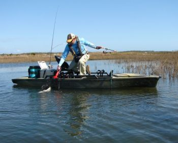 For winter Carolina reds, let your kayak takes you to the right spots.