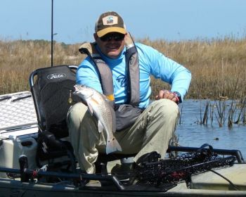 As long as the water temperature is at 50 degrees or higher, redfish will remain very active through the winter.