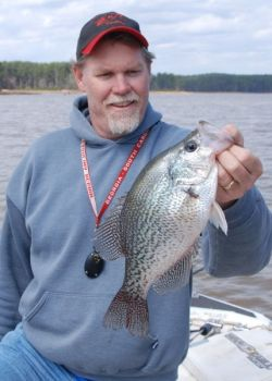 Carolina Sportsman columnist and Upstate Outdoors radio show host Phillip Gentry is one of the Crappie University instructors.