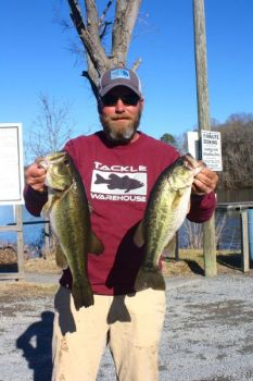 Tournament promoter Bo Russell expects Badin Lake's big bass to bite this month.