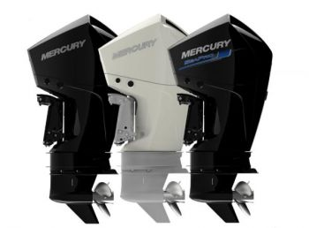 Mercury's new outboard lineup was awarded the 2018 NMMA Innovation Award during last week's Miami International Boat Show.