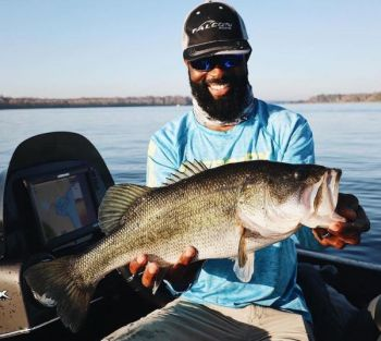Brian Latimer said the key to catching bass in muddy water is to focus less on lure color, and more on lure vibration, sound, and water disturbance.