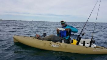 Mike Eady has plenty of places to target Spanish mackerel within kayak range of his home port of Murrells Inlet, S.C.