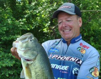 May across the Carolinas is a banner month for catching plenty of bass, including some big ones, in shallow water.