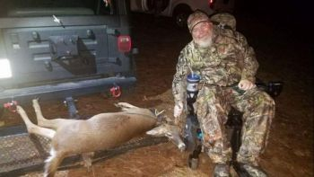 Hands of a Sportsman is a NC-based non-profit that takes disabled hunters on adventures that put smiles on their faces and game on the ground.