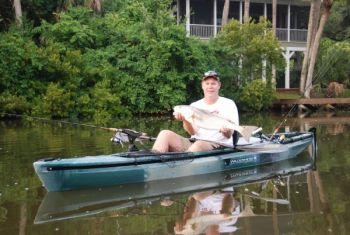 June can be a great month for kayak-bound anglers of the saltwater or freshwater nature.