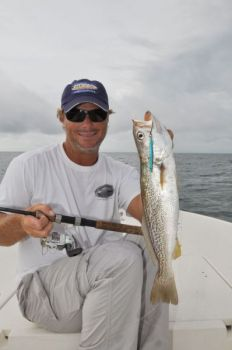 Target gray trout and flounder around Cape Fear's nearshore reefs.