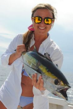 Blackfin tuna occupy a big spot in bluewater anglers' fish boxes during the summer in both Carolinas.
