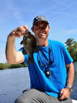 Summer bream are a staple on South Carolina's Santee Cooper lakes.